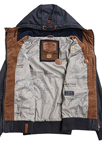 Naketano Male Jacket Don Diva Dark Blue