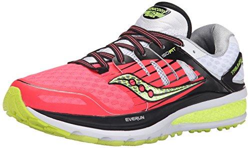 Saucony Triumph ISO 2, Zapatillas de Running Para Mujer, Rosa (Coral/Silver), 39 EU
