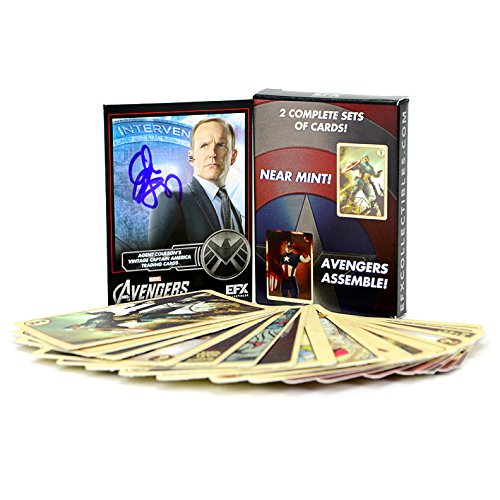 clark-gregg-autographed-agent-coulsons-captain-america-trading-cards