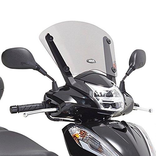Givi Cupolino FumÚ chiaro per Honda-SH 300 i dal 2015 fino al 2016