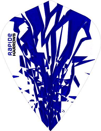 5-x-sets-harrows-rapide-dark-blue-dart-flights-kite