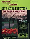 Image de Time-Saver Standards Site Construction Details Manual