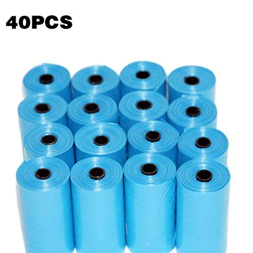 ASOSMOS 40 Rolls Blue Pet Poop Taschen Hund Katze Welpen Abfall Abholung Clean Bag Haustiere Liefert - Asos Roll