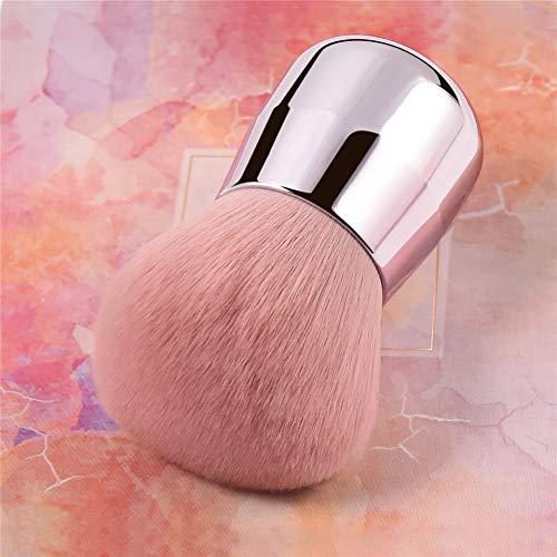 AHEFARosa Make-Up-Puder Für Gesicht, Körper Und Wangen Foundation Brush Weicher Und Flauschiger Tragbarer Make-Up-Pinsel Zum Mischen Von Einstellungen