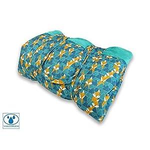 BlueKitty XXL 180x200cm Picknickdecke Wasserdicht mit Tragegriff für Picknicks, Strandmatte, Stranddecke, Outdoor…