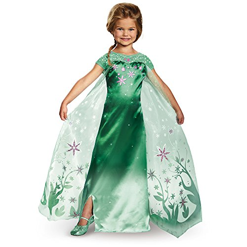 Fever Deluxe Costume, One Color, Large (10-12) by Disguise (Frozen Elsa Deluxe Kostüme)
