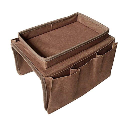 Newsbenessere.com 51sPZlRqXBL Copribracciolo portaoggetti per sedie, divani e poltrone, con 6tasche, porta telecomando TV