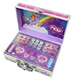 POP Enchanted World Of Beauty Case Kit Maquillage pour Enfant 18 Gloss 2 Vernis 9 Ombres Paupières