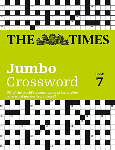 The Times 2 Jumbo Crossword Book 7
