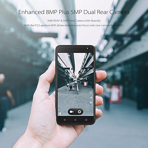 Wieppo Smartphone Libres Baratos 3G  S6 Lite Tel  fono M  vil Dual SIM con Pantalla DE 5 5 Pulgadas HD 1280 720  Doble C  mara 8MP 5MP  1GB RAM 8GB RO