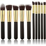 XCSOURCE® Pro Kosmetik 10PCS Pinsel Satz Makeup Brush Satz Augenbrauen Schatten Cosmetic Foundation Concealer Bürsten MT085