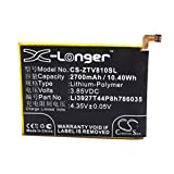 vhbw Li-Polymer Akku 2700mAh (3.85V) für Handy Smartphone Telefon ZTE Blade V8, BV0800