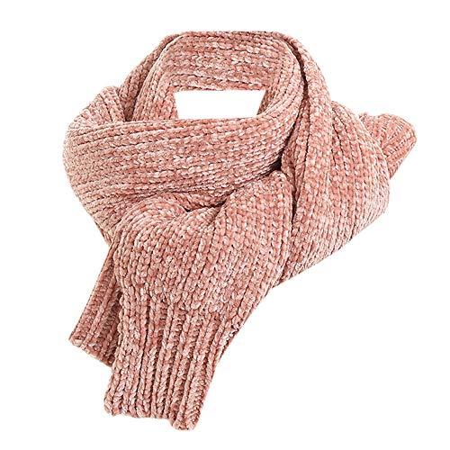 Quaan Frau exquisit Solide Stricken Schal, Winter Warm Farbe nähen Lange Klassisch Wolle Schal Hals...