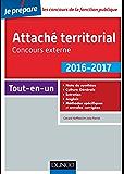 Attaché territorial 2016-2017 - Concours externe - 2e éd. : Catégorie A (Concours fonction publique)