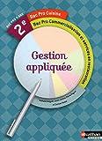 Gestion appliquée 2e Bac Pro Cuisine