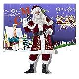 SDLRYF Disfraz De Papá Noel Bar Disfraces Navidad Hombres Y Mujeres Adultos Santa Claus Navidad Navidad Trajes Trajes Amantes Europeos Y Americanos,XXL