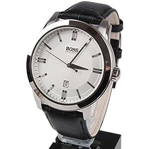 Hugo Boss 1512766 - Reloj analógico de cuarzo para hombre, correa de cuero color negro de Hugo Boss