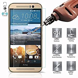 TEMPERED GLASS FOR HTC DESIRE 620G + TRAVEL USB CHARGER + MICRO USB CABLE