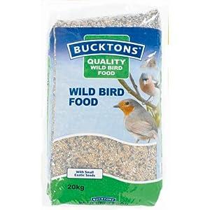 Bucktons Buckton Wildbird Food 20kg by Bucktons