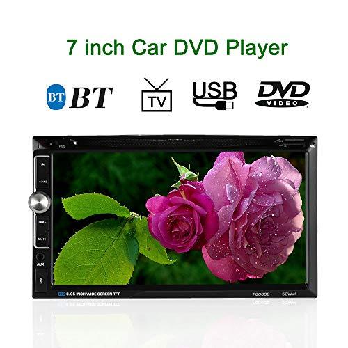 KKmoon Universal 7Zoll 2 Din HD Car Stereo-DVD-Player Radio Entertainment Multimedia Unterst¨¹tzt BT USB/TF FM Aux Eingang