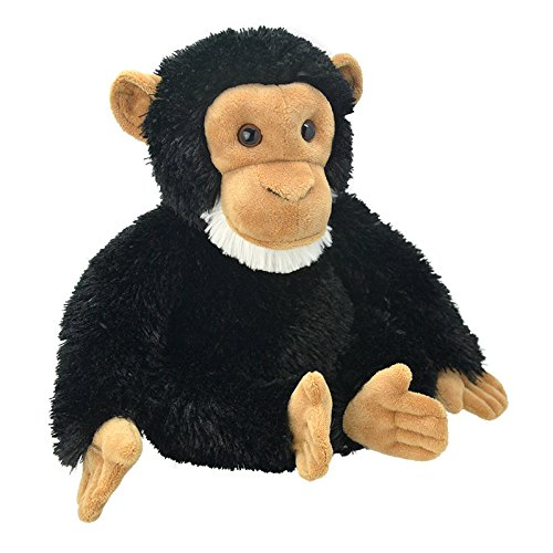 Wild Planet All About Nature-25 cm Chimpancée à la Main, Peluche réaliste, Multicolore (K8238