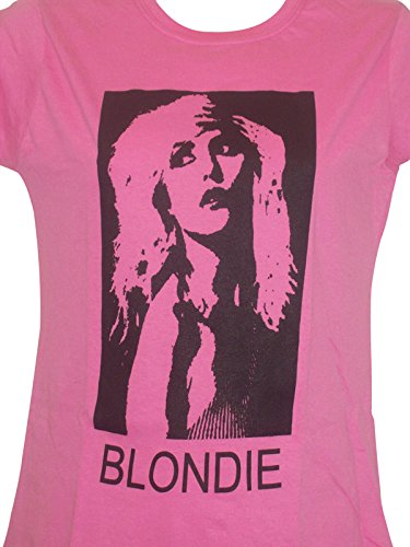 Ladies BLONDIE T SHIRT PINK