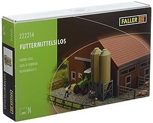 Faller FA 222214-Forro Medio Silos, Accesorios para el Modelo Ferrocarril, Modelo Diseño