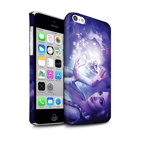 Officiel Elena Dudina Coque / Clipser Matte Etui pour Apple iPhone 5C / Jessica Design / Caractère Conte Fées Collection Cour Gelé