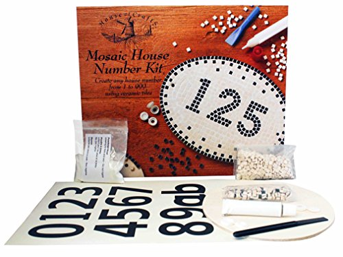 House of Crafts Mosaic House Number Kit by House of Crafts
