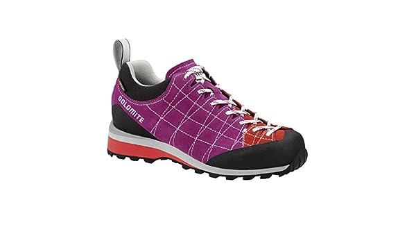 Dolomite Diagonal GTX Women - pansy purple/hibiscus red CqrkLC