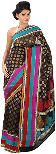 Pragati Sarees Women's Saree With Blouse Piece (PS-37