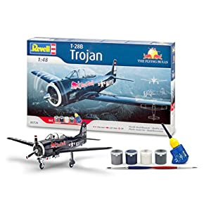 Revell 05726 - Modellbausatz - Geschenkset T-28 Trojan, Flying B, Maßstab 1:48