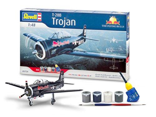 revell-05726-maquette-aviation-coffret-cadeau-t-28-trojan-flying-bulls