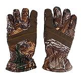Dilwe Jagdhandschuhe, 1 Paar/Set Männer Winter Anti Slip Wasserdichte Vollfinger Warme Handschuhe Camouflage Für Jagd Skifahren