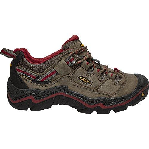 keen-womens-durand-low-wp-w-trekking-hiking-half-shoes-marrone-brown-shitake-racing-red-395