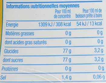 Sodastream Concentré Sirop Tonic pour Machine à Soda 500 ml