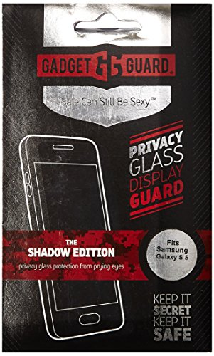 £24.99 Latest Gadget Guard Shadow Edition Privacy Glass Screen Protector for Samsung Galaxy S5
