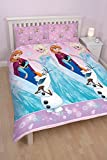 "Character World Double ""Disney Frozen Magic"" Rotary Duvet Set, Multi-Colour"