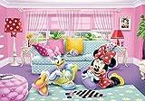 Tapetokids Fototapete - Disney Minnie Mouse - Vlies 208 x 146 cm (Breite x Höhe) - Wandbild Daisy