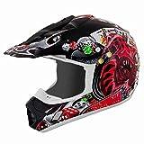 THH Schwarz Joker TX12Motocross Helm