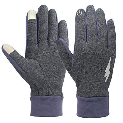 Touch Screen Handschuhe - Yopindo Winter Warm Thermische Radfahren Handschuhe Sport Outdoor Anti Slip Laufen Kaltes Wetter Motorrad Driving...