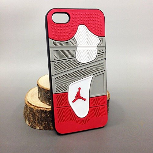 KBDS AIR Jordan Soft Shoe Rubber 3D Sneaker Sole 4 Cases for iPhone 6/6S Design2 Apple Bottom Sneakers