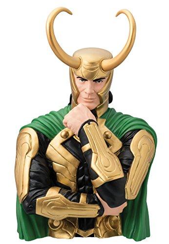 Marvel Monograma - Tirelire Loki Busto 20 cm (Hasbro 0077764681738)