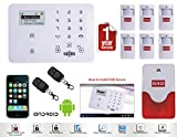 "D3D GSM alarm system ""LCD Security Wireless GSM Auto dial Home Office Burglar Intruder Alarm SALES"" Model:D9"