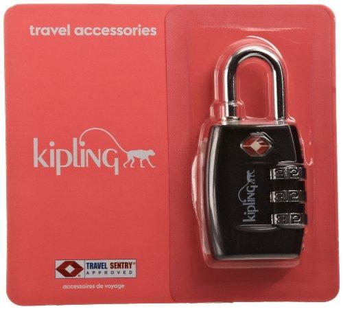 Kipling Tsa Lock Lucchetto per valigie, 15 cm, Argento (Silver)