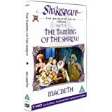 Shakespeare: The Animated Tales, Act 1 (The Taming Of The Shrew & Macbeth) [DVD] by Nikolai Serebriakov