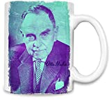 Clubbing Designs Otto Hahn Porträt - Otto Hahn Portrait Unique Coffee Mug | 11Oz Ceramic Cup| The Best Way to Surprise Everyone On Your Special Day| Custom Mugs by