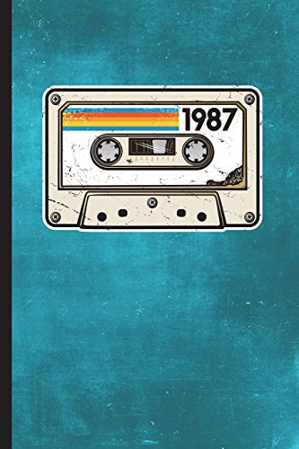 "1987: 6"" x 9"" 