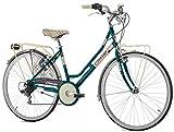 Cicli Cinzia Citybike Kilt 6/V Revo Shift V-Brake Alluminio,...