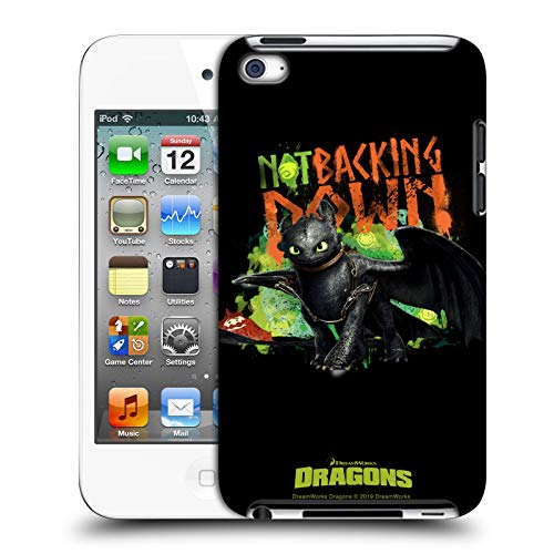 Head Case Designs Offizielle How to Train Your Dragon 2 Not Backing Down II Toothless Harte Rueckseiten Huelle kompatibel mit Apple iPod Touch 4G 4th Gen